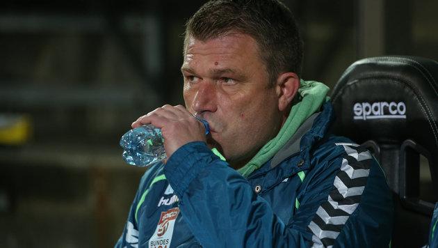 SV Ried löst Vertrag mit Ex-Coach Benbennek auf (Bild: GEPA)