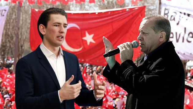 Türkische Minister zerren Niederlande vor Gericht (Bild: AP)