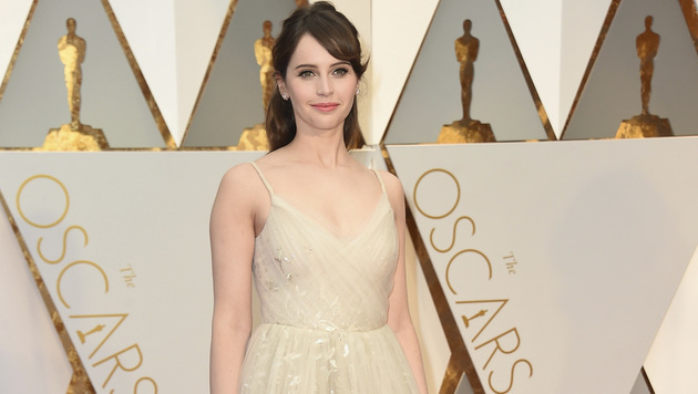 Felicity Jones (Bild: Jordan Strauss/Invision/AP)