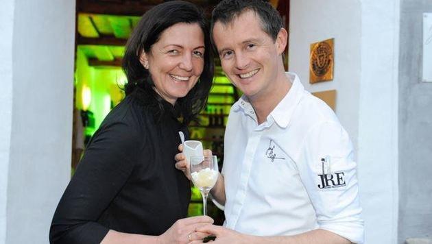 Maria und Josef Steffner ließen sich zum 10-jährigen Jubiläum ihres Mesnerhauses feiern. (Bild: Roland Holitzky)