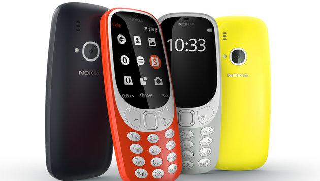 Nokia 3310: Kult-Handy ab sofort wieder erhältlich (Bild: Nokia)