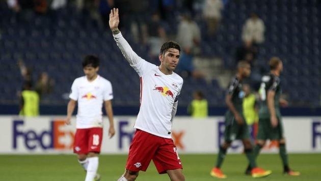 Sag zum Abschied leise Servus: Soriano kehrt Salzburg den Rücken. (Bild: Andreas Tröster)