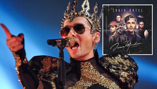 Tokio Hotel fliegen mit dem Traumschiff ins All (Bild: EPA/Pedersen, Sony Music)