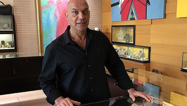 Yossi Dina ist der Pfandleiher der Stars. (Bild: instagram.com/yossidina)