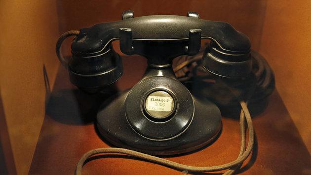 So hat eines der ersten Telefone im Waldorf ausgesehen. (Bild: ASSOCIATED PRESS)