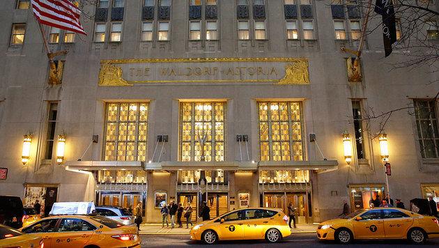 Das Ende einer Ära: Das Waldorf-Astoria sperrt zu und wird grundlegend umgestaltet. (Bild: ASSOCIATED PRESS)