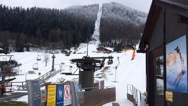 Die Uni Innsbruck beschäftigt sich mit der Zukunft der Zinkenlifte und des Dürrnbergs in Hallein. (Bild: Melanie Hutter)