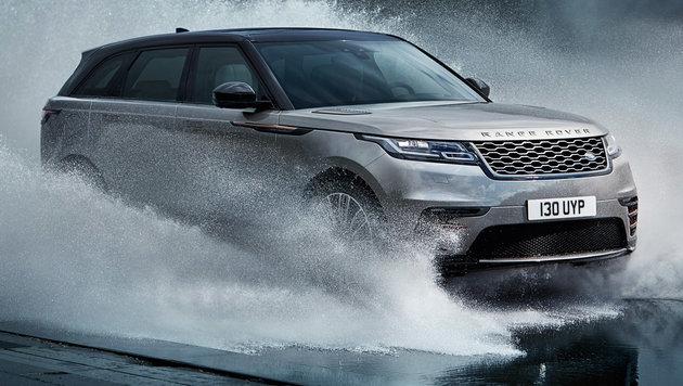 Wasserdurchfahrten sind bis zu einer Tiefe von 65 cm möglich. (Bild: Land Rover)