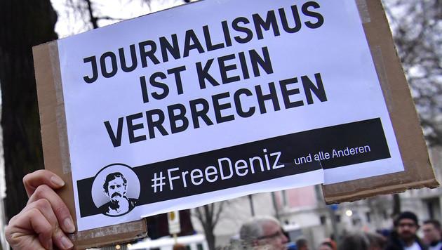 Deniz Yücel wird Fall für Menschenrechts-Gericht (Bild: AFP)