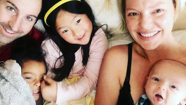 Katherine Heigl und ihre Kinderschar. (Bild: Instagram.com/katherineheigl)