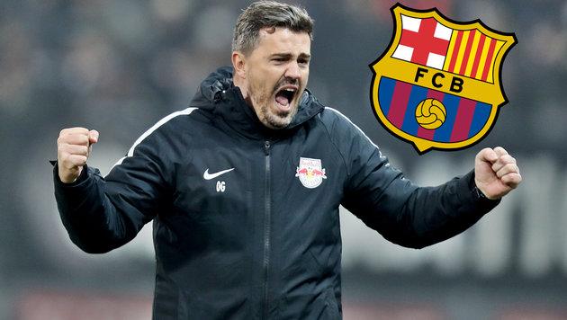 "FC Barcelona lockt ""Bullen""-Coach Oscar Garcia! (Bild: GEPA)"