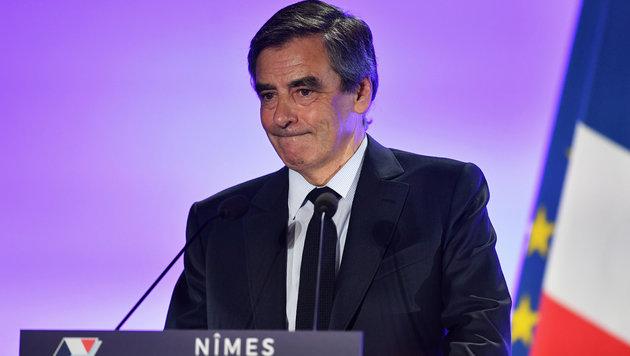 Gegen Francois Fillon wurden Ermittlungen eingeleitet. (Bild: AFP)