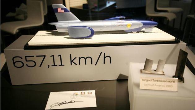 """Der """"Spirit of America"""" schaffte 1963 satte 657,11 km/h. (Bild: Max Grill)"""