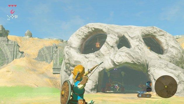 Beim Zielen profitiert man von den Bewegungssensoren in der Nintendo-Hardware. (Bild: Nintendo)