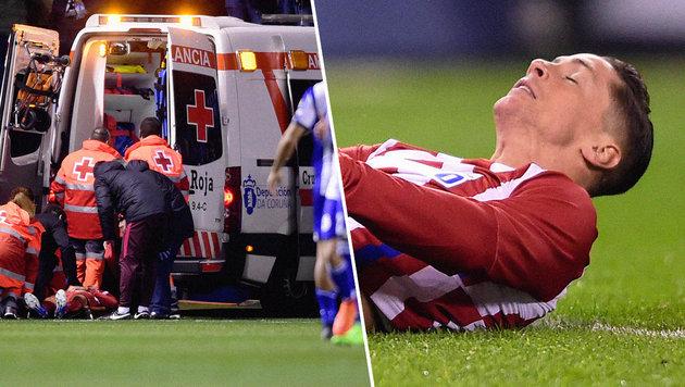 Horror-Crash: Torres kann sich an nichts erinnern (Bild: AFP)