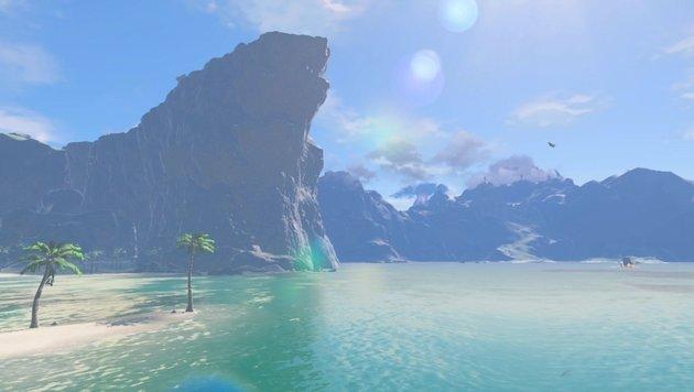 Die prachtvollen Landschaften sind bis in den hintersten Winkel erkundbar. (Bild: Nintendo)
