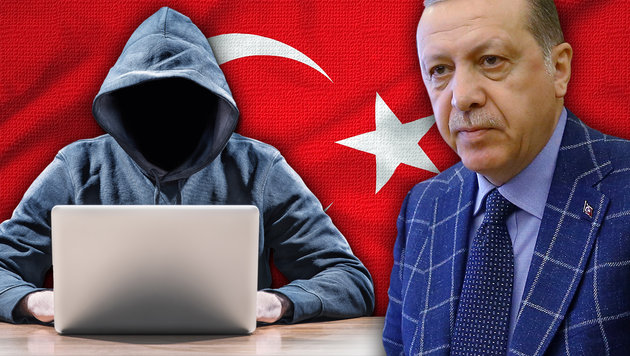 Hacker drohen: Erdogans Chaos jetzt auch bei uns (Bild: AP/Kayhan Ozer, thinkstockphotos.de)