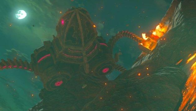 Neben kleinem Kanonenfutter gilt es auch riesenhafte Bosse zu bekämpfen. (Bild: Nintendo)