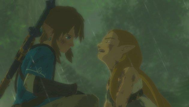 """Emotionale Momente - auch das gibt es im neuen """"Zelda"""". (Bild: Nintendo)"""