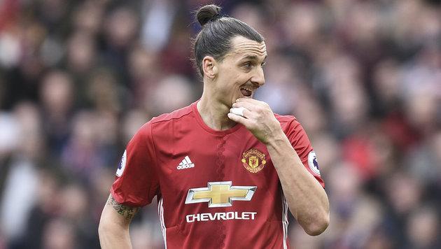 Ibrahimovic: Neuer Vertrag bei Manchester United? (Bild: AFP)