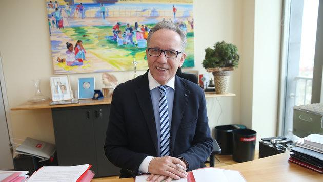 Wiens Arbeiterkammerpräsident Rudi Kaske (Bild: Peter Tomschi)