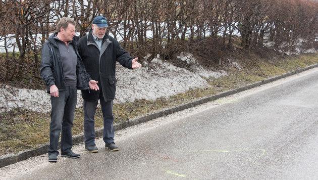 Beim Fahrerfluchtunfall am 18. Februar fand ein Autofahrer das Opfer, schlug beim Nachbarn Alarm (Bild: Jack Haijes)
