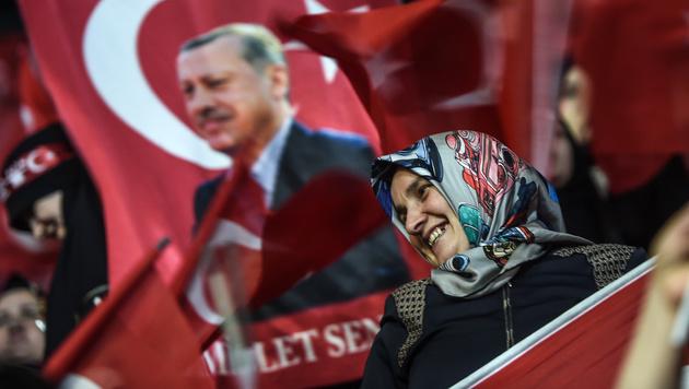Keine Erdogan-Shows mehr vor Referendum in Türkei! (Bild: AFP)