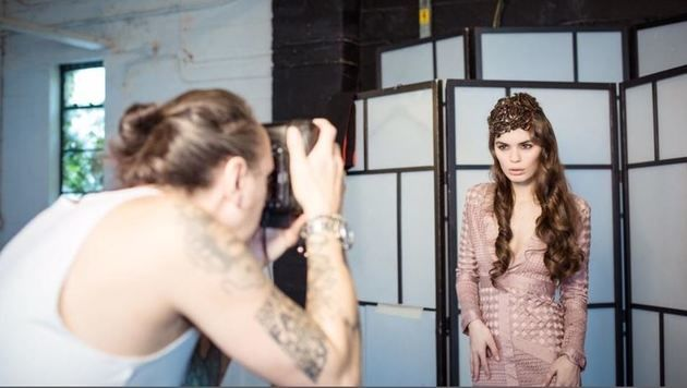 Der oberösterreichische Fotograf Stefan Dokoupil setzte die internationalen Models perfekt in Szene. (Bild: Stefan Dokoupil)