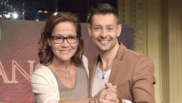 Monica Weinzettl und Florian Gschaider (Bild: APA/HANS PUNZ)