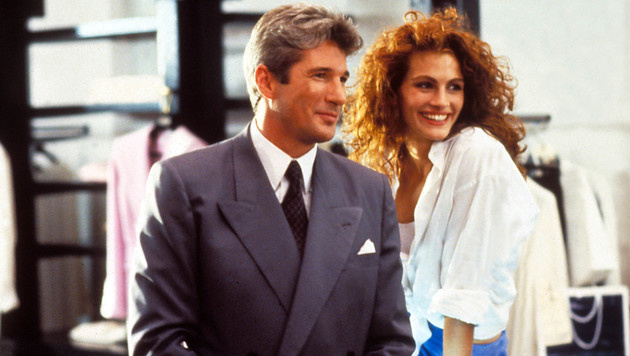 "Richard Gere und Julia Roberts in ""Pretty Woman"" (Bild: Moviestore Collection/face to face)"