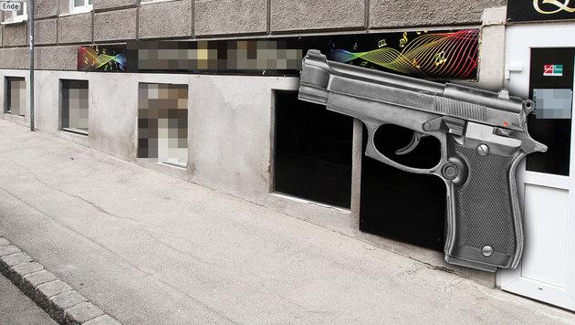 Wunschlied verwehrt: Türke gab Schuss in Lokal ab (Bild: Andi Schiel)
