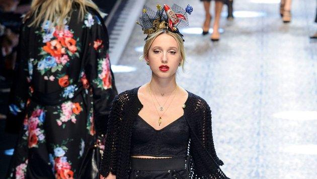 Maria Olympia von Griechenland auf der Mailänder Fashion Week (Bild: face to face)