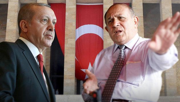 Erdogan und sein Berater Burhan Kuzu (Bild: APA/AFP/Adem Altan, EPA/Sedat Suna)