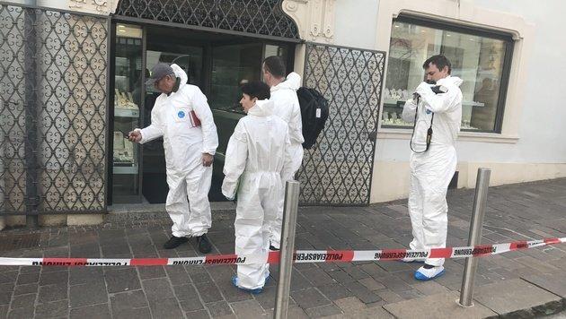 Juwelier in Eisenstadt zum vierten Mal ausgeraubt (Bild: Christian Schulter)