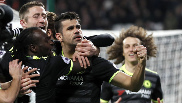 Chelsea wieder zehn Punkte vor Tottenham (Bild: AP)