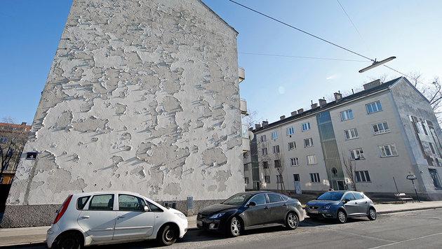 Wiener Gemeindebau seit 57 Jahren nicht saniert! (Bild: Reinhard Holl)