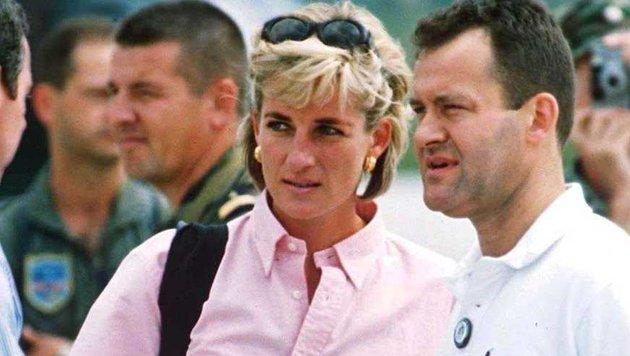 Prinzessin Diana und ihr Butler Paul Burrell (Bild: Viennareport)