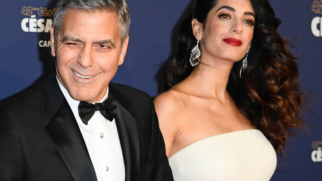 George und Amal Clooney (Bild: News Pictures/face to face)
