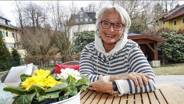 Maria Haidinger, Powerfrau, die andere motiviert: Sie engagiert sich heute in der Hospizbewegung. (Bild: Markus Tschepp)