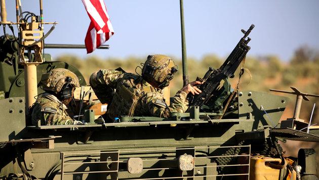 Sind das die Vorboten für mehr US-Truppen in Nordsyrien? (Bild: AFP)