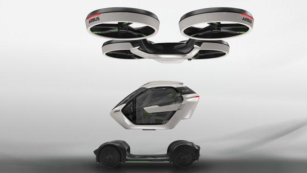 Jetzt baut auch Airbus ein fliegendes Auto (Bild: Italdesign)