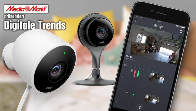 Nest: Smart und sicher zu Hause (Bild: Nest)