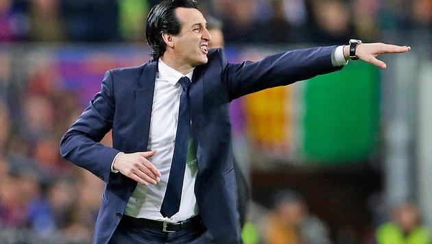 """PSG-Coach fassungslos: """"Gibt keine Entschuldigung"""" (Bild: AP)"""