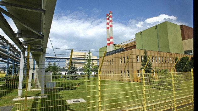 Das Atomkraftwerk Paks (Bild: AFP)