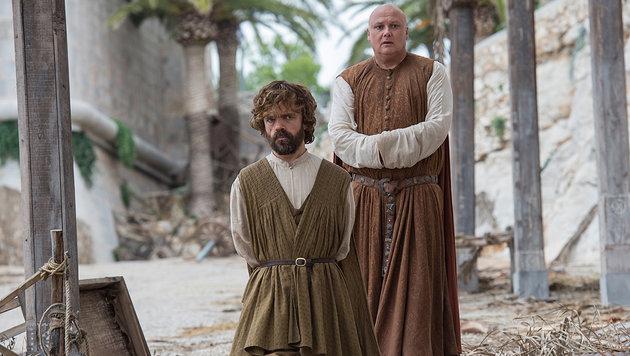 """Tyrion"" Peter Dinklage und ""Varys"" Conleth Hill (Bild: RTL II)"