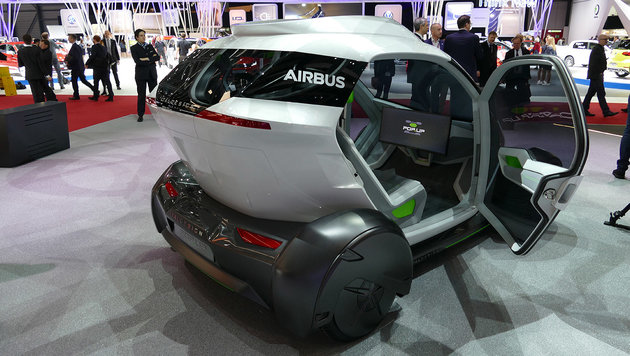 Jetzt baut auch Airbus ein fliegendes Auto (Bild: Stephan Schätzl)