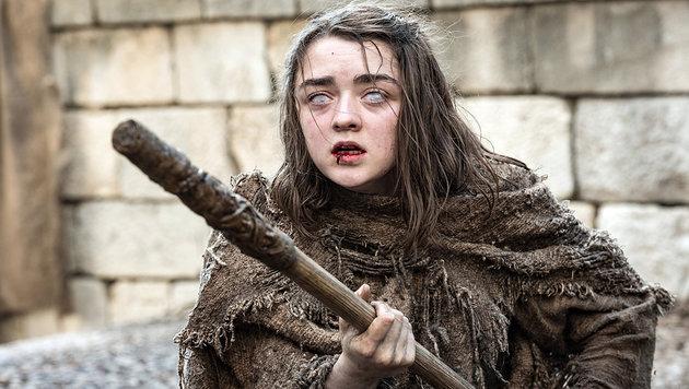 Maisie Williams spielt Arya Stark in der Erfolgsserie Game of Thrones. (Bild: RTL II)