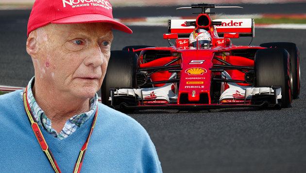 Neuer Favorit: Niki Lauda von Ferrari beeindruckt (Bild: GEPA)
