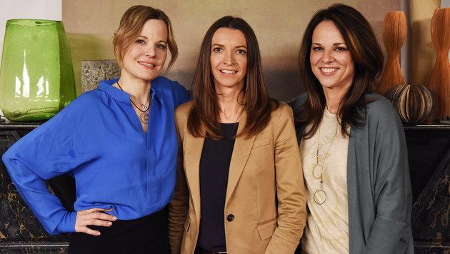 ... sowie der Psychologin Dr. Monika Wogrolly und Nina Fuchs. (Bild: ORF)