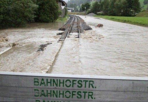 Hochwasser im Pinzgau: Jetzt startet das größte Schutzprojekt. (Bild: Faistauer)